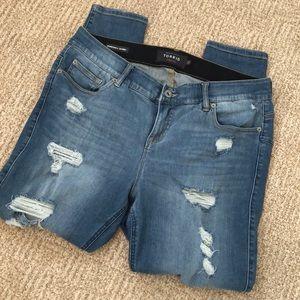 Torrid Bombshell Skinny Jean